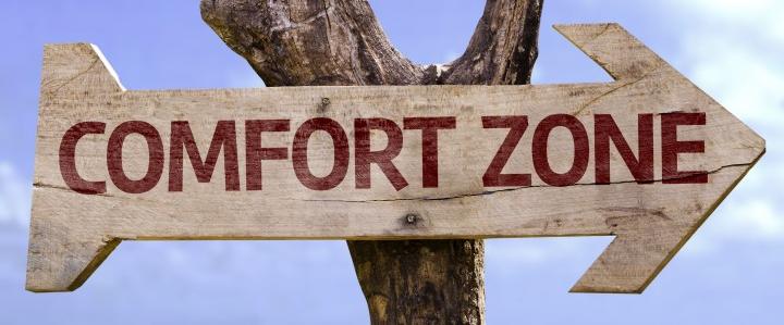 break comfort zone